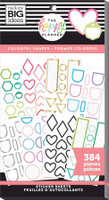 The Happy Planner - Me and My Big Ideas - Value Pack Stickers - Colorful Shapes (#384)