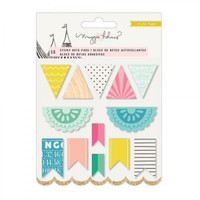 Crate Paper - Maggie Holmes - Carousel Sticky Notes Set - Banner Shapes