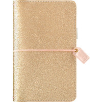 Webster's Pages - Color Crush - Standard Travelers Journal - Gold Glitter