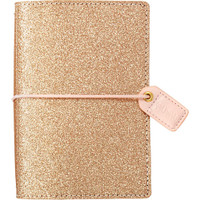 Webster's Pages - Color Crush - Pocket Traveler's Planner - Gold Glitter