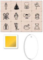 Hero Arts - Mounted Stamps - Mini Tub - Nutcracker