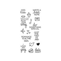 Technique Tuesday Clear Stamps - Kiss