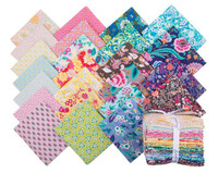 Free Spirit Fabrics - Stories and Songbirds Library of Flowers by Margot Elena - Fat Quarter Bundle