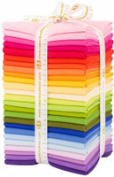 Robert Kaufman Fabric Precuts - Fat Quarter Bundle - Kona Solids - Annie Smith Designer Palette