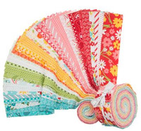 Moda Fabric Precuts Jelly Roll - Mama's Cottage by April Rosenthal