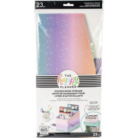 Happy Planner - Me and My Big Ideas - Sticker Book Storage Box - Pastel Rainbow