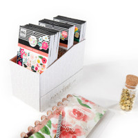 The Happy Planner - Me and My Big Ideas - Sticker Book Storage Box - Neutral Geo