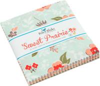 Riley Blake Fabrics - Charm Pack - Sweet Prairie by Sedef Imer
