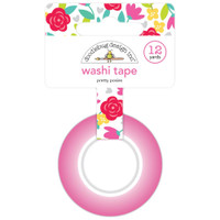 Doodlebug Designs - Washi Tape - Pretty Posies - Love Notes
