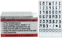 Contact USA Clickable Stamp Set - Calendar - Numbers & Symbols