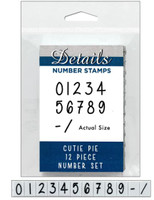 Contact USA Clickable Stamp Set - Numbers
