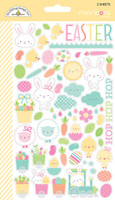 Doodlebug Designs - Mini Cardstock Stickers - Easter Express - Mini Icons