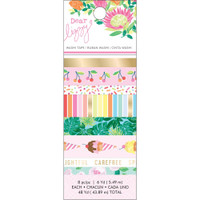 American Crafts - Dear Lizzy - Here & Now - Washi Tape - Set of 8