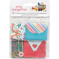 American Crafts - Amy Tangerine - In The Park - Envelope Stickers