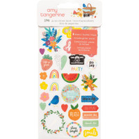 American Crafts - Amy Tangerine - In The Park - Sticker Book