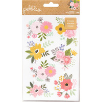 American Crafts - Pebbles - Lovely Moments - Sticker Book