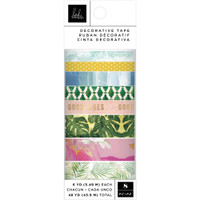 American Crafts - Heidi Swapp - Art Walk - Washi Tape - Set of 8