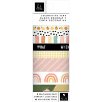 American Crafts - Heidi Swapp - Storyline Chapters - Washi Tape - Set of 8
