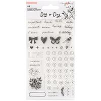 Maggie Holmes - Day-To-Day Planner Clear Stamp Set