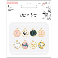 Maggie Holmes - Day-To-Day Planner Charms - Set of 8