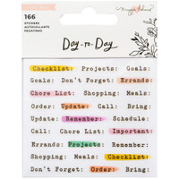 Maggie Holmes - Day-To-Day Planner Mini Sticker - Book 2