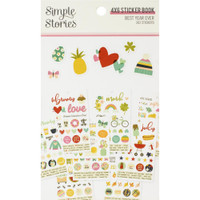 Carpe Diem - Simple Stories - Mini Sticker Book - Best Year Ever