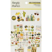 Carpe Diem - Simple Stories - Mini Sticker Book - Going Places