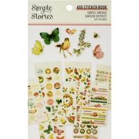 Carpe Diem - Simple Stories - Mini Sticker Book - Simple Vintage Garden District