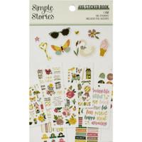 Carpe Diem - Simple Stories - Mini Sticker Book - I Am