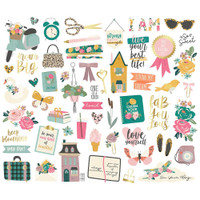 Carpe Diem - Simple Stories - I Am Bits & Pieces Die-Cuts
