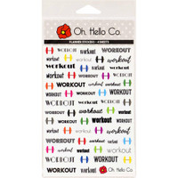 Oh Hello Co - Planner Stickers - Health & Fitness