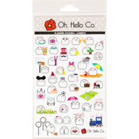 Oh Hello Co - Planner Stickers - Blobby Variety