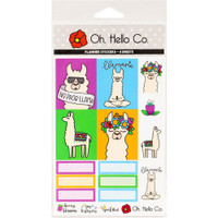 Oh Hello Co - Planner Stickers - Llama Weekly