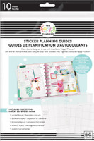 The Happy Planner - Me and My Big Ideas - Classic - Clear Sticker Planning Guide