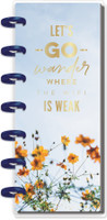 The Happy Planner - Me and My Big Ideas - Skinny Mini Happy Notes™ - Skinny Lets Go Wander Where The Wifi Is Weak (Dot Grid)