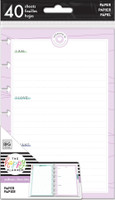 The Happy Planner - Me and My Big Ideas - Mini Refill Note Paper - Full Sheet - Wellness Mood Tracker (Dot Grid/Dot Lined)