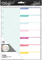 The Happy Planner - Me and My Big Ideas - Classic Block Paper Pad - Brights