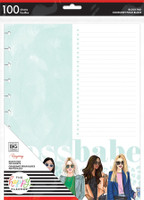 The Happy Planner - Me and My Big Ideas - BIG Block Paper Pad -Rongrong - Boss Babe