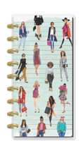 The Happy Planner - Me and My Big Ideas - Skinny Classic Happy Planner® - Rongrong Girls Can - 12 Months  (Dated, Horizontal)