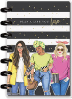 The Happy Planner - Me and My Big Ideas - Mini Happy Planner® - Rongrong Plan A Life You Love - 12 Months (Dated, Horizontal)
