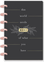 The Happy Planner - Me and My Big Ideas - Mini Happy Planner® - This World Needs Modern Farmhouse - 12 Months (Dated, Dashboard)