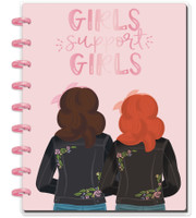 The Happy Planner - Me and My Big Ideas - Classic Happy Notes™ - Girls Support Girls (Dot Grid)