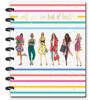 The Happy Planner - Me and My Big Ideas - Classic Happy Notes™ - Rongrong - Beautiful Rainbow (Dotted Line)