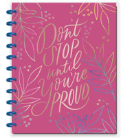 The Happy Planner - Me and My Big Ideas - BIG Happy Notes™- Don't Stop Until You're Proud (Dot Grid)