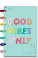 The Happy Planner - Me and My Big Ideas - Mini Happy Notes™ - Good Vibes Only (Dotted Lined)