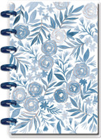 The Happy Planner - Me and My Big Ideas - Mini Happy Notes™ - Blue Florals (Dotted Lined)