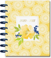 The Happy Planner - Me and My Big Ideas - Classic Happy Planner - Pretty Preppy - 18 Months (Dated, Hourly)