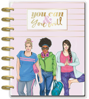 The Happy Planner - Me and My Big Ideas - Classic Fitness Happy Planner - Rongrong (Dated, Vertical)