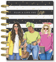 The Happy Planner - Me and My Big Ideas - Classic Happy Planner - Plan A Life You Love - 18 Months (Dated, Dashboard)