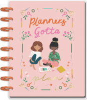 The Happy Planner - Me and My Big Ideas - Classic Happy Planner - Squad Goals Planner's Gotta Plan - 18 Months (Dated, Vertical)